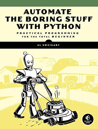 booksreddit.com:Automate the Boring Stuff with Python: Practical Programming for Total Beginners