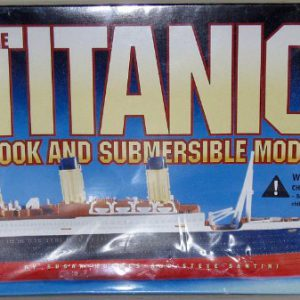 booksreddit.com:The Titanic Book and Submersible Model