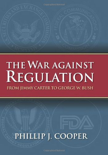 booksreddit.com:The War against Regulation: From Jimmy Carter to George W. Bush (Studies in Government and Public...