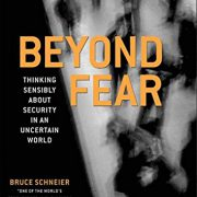 booksreddit.com:Beyond Fear: Thinking Sensibly About Security in an Uncertain World.