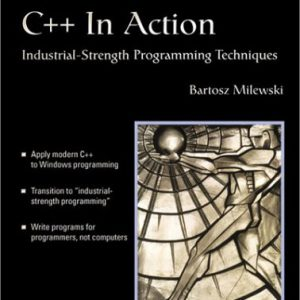 booksreddit.com:C++ In Action: Industrial Strength Programming Techniques (With CD-ROM)