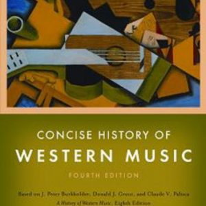 booksreddit.com:Concise History of Western Music (Fourth Edition)
