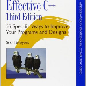 booksreddit.com:Effective C++: 55 Specific Ways to Improve Your Programs and Designs (3rd Edition)