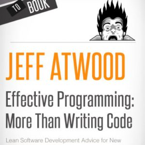 booksreddit.com:Effective Programming: More Than Writing Code