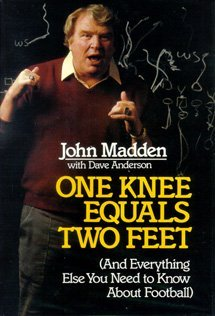 booksreddit.com:One Knee Equals Two Feet: And Everything Else You Need to Know About Football