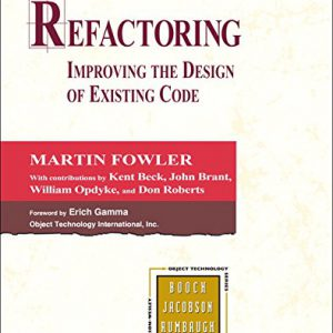 booksreddit.com:Refactoring: Improving the Design of Existing Code