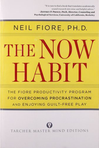 booksreddit.com:The Now Habit: A Strategic Program for Overcoming Procrastination and Enjoying Guilt-Free Play