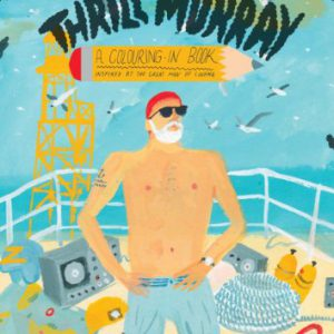 thrill murray coloring book - Bill Murray Coloring Book