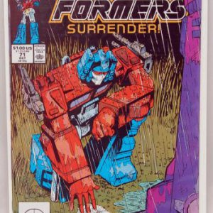 booksreddit.com:Transformers 71 - Surrender! - Starscream - Optimus Prime - Comic Book (1)