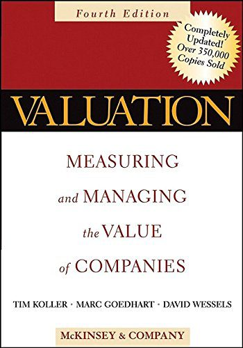 booksreddit.com:Valuation: Measuring and Managing the Value of Companies