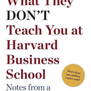 booksreddit.com:What They Don't Teach You at Harvard Business School: Notes from a Street-smart Executive