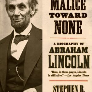 booksreddit.com:With Malice Toward None: A Life of Abraham Lincoln