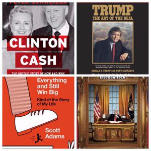 Top rated books on The_Donald