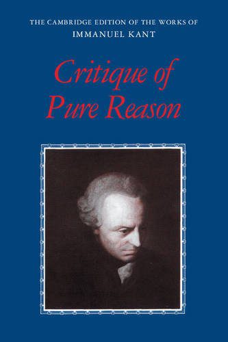 booksreddit.com:Critique of Pure Reason (The Cambridge Edition of the Works of Immanuel Kant)