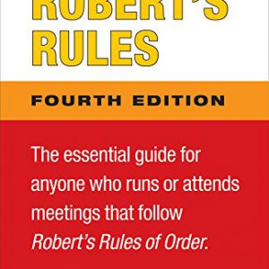 booksreddit.com:Notes and Comments on Robert's Rules