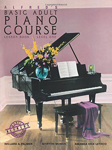 booksreddit.com:Alfred's Basic Adult Piano Course: Lesson Book