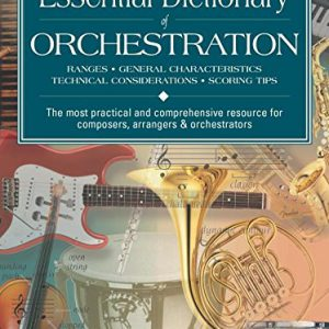 booksreddit.com:Essential Dictionary of Orchestration: Pocket Size Book (Essential Dictionary Series)